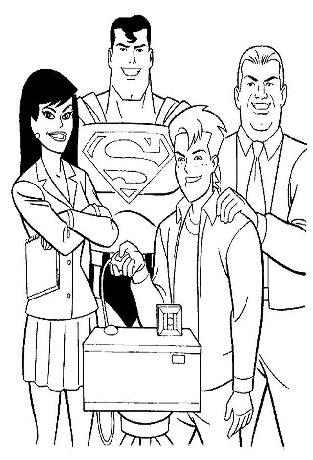 Superman Ausmalbilder 9 | Ausmalbilder für kinder | Pinterest ...