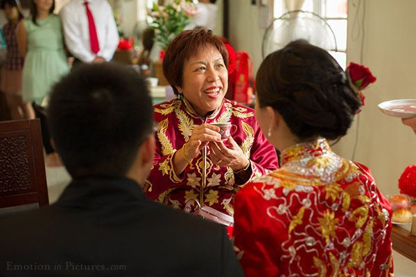 Traditional Chinese Wedding Tea Ceremony In Malaysia Beng Wai Ping