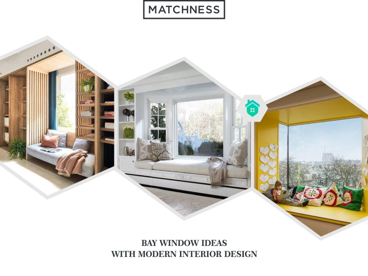 12 Bay Window Ideas with Modern Interior Design ~ Matchness.com ...