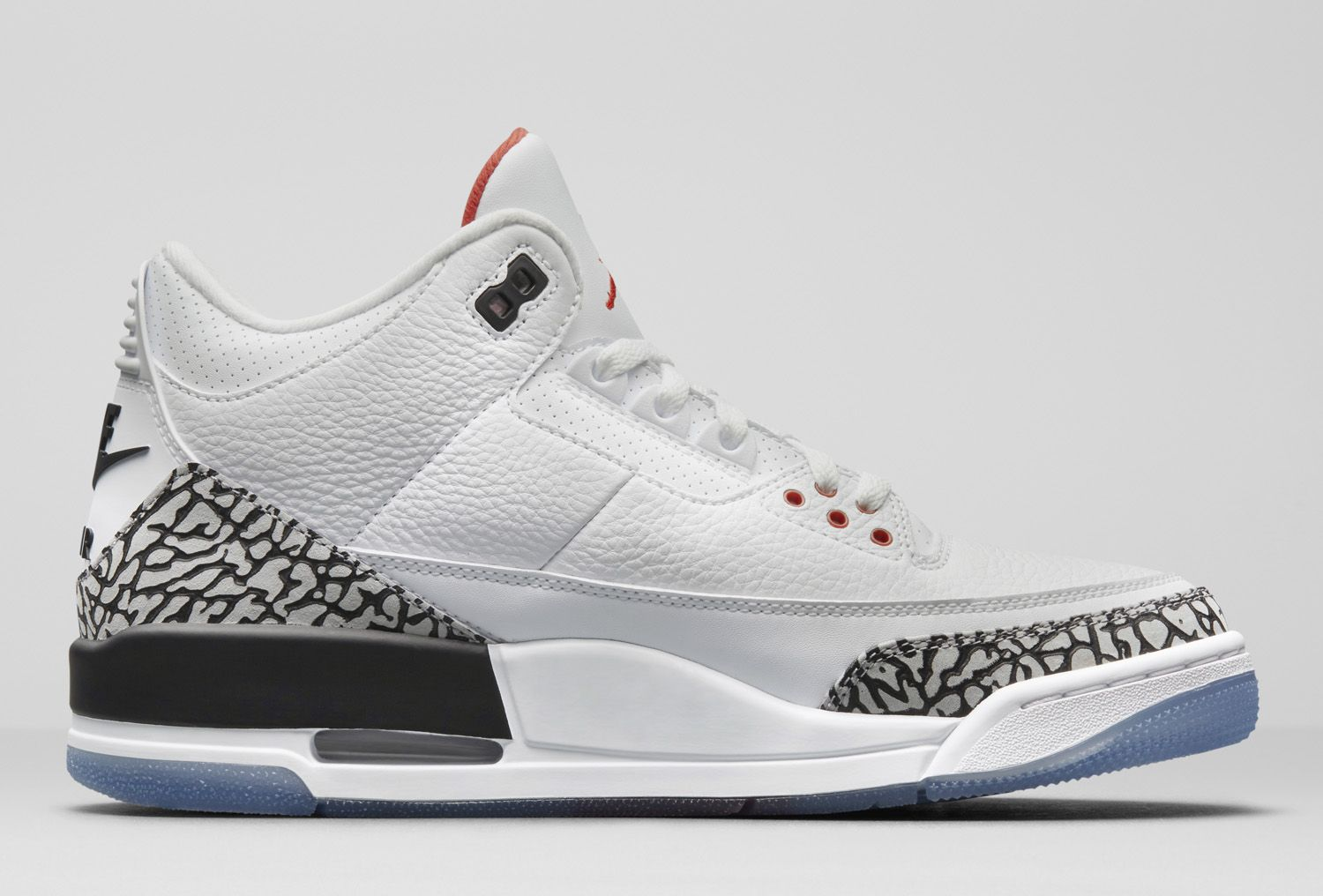 2734313dbdd The Air Jordan 3 'White Cement' NRG Celebrates MJ's Jump From the Free  Throw Line - WearTesters