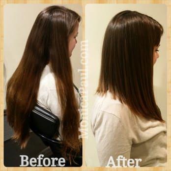Long Aline Bob Hair Cut Yelp Longer Bob Hairstyles Pinterest