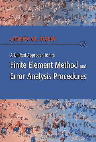 Download free a unified approach to the finite element method and download free a unified approach to the finite element method and error analysis procedures pdf fandeluxe Images
