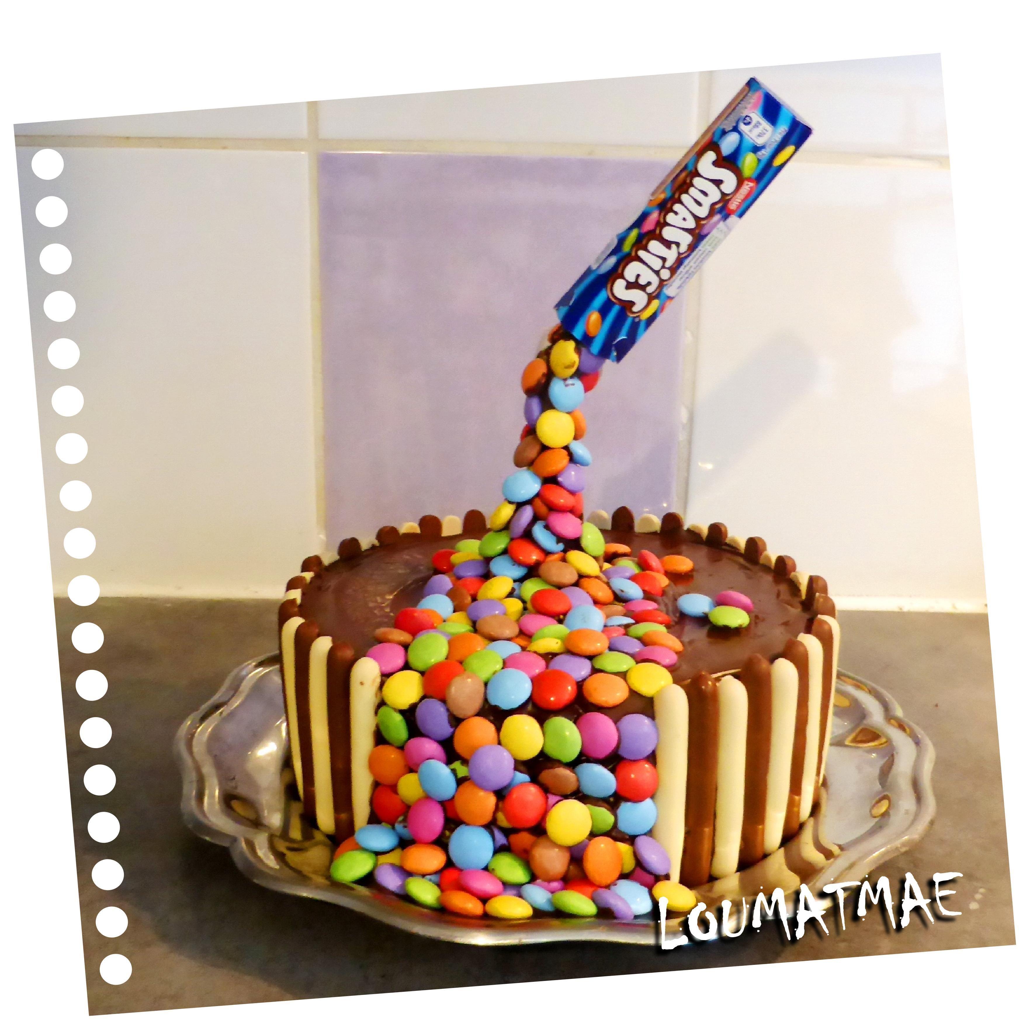 Gravity cake surprise : je dévoile tout {recette}