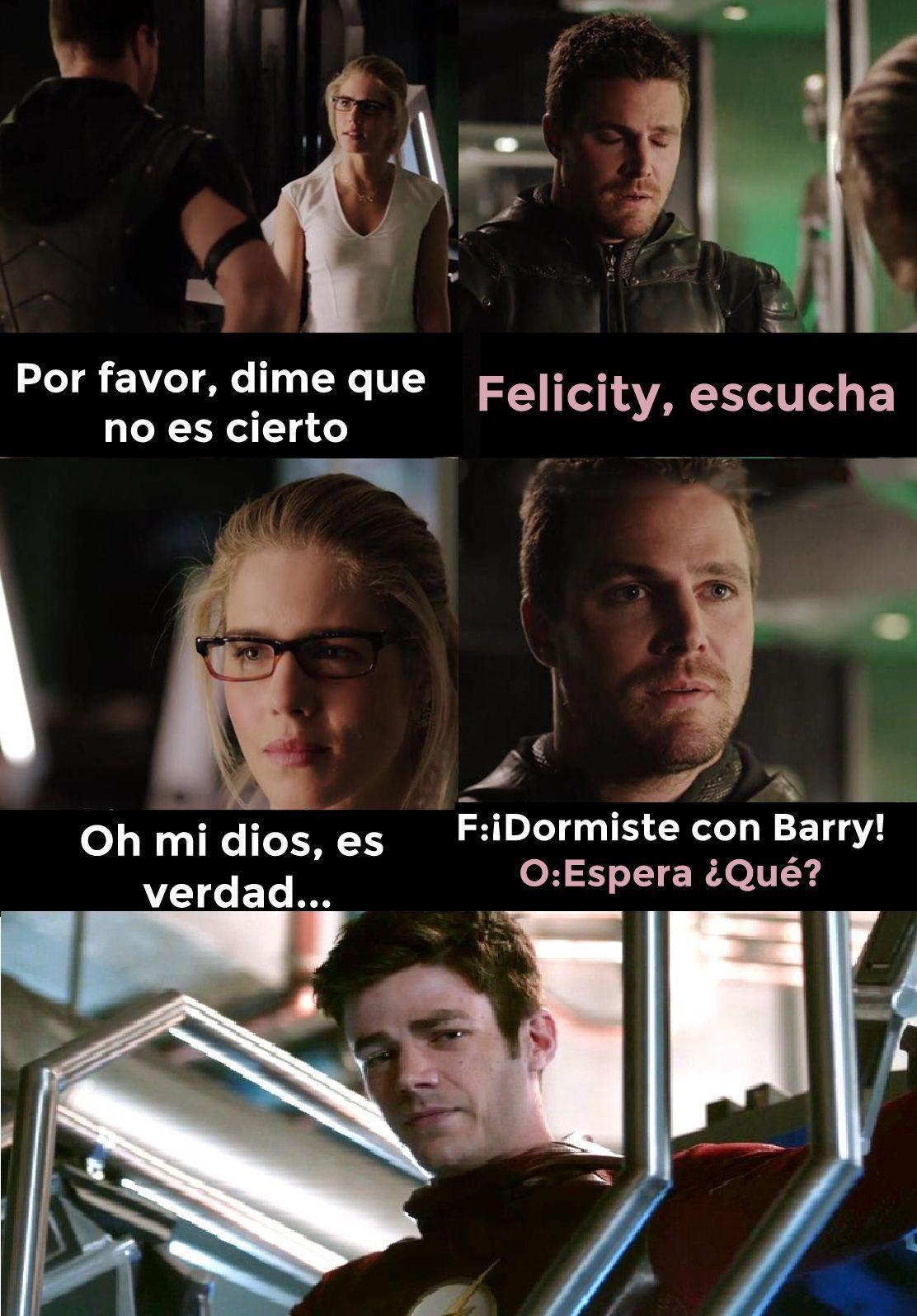 Memes Olivarry Memes The Flash Supergirl And Flash