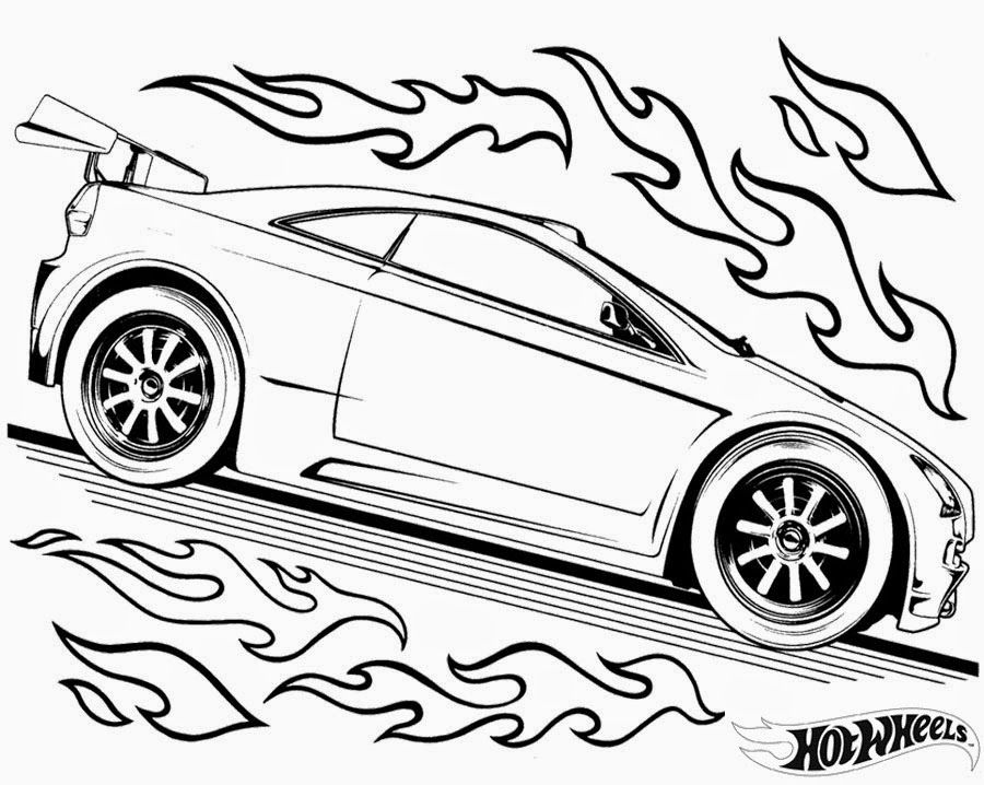 Hot Wheels Coloring Pages 86 Race car coloring pages