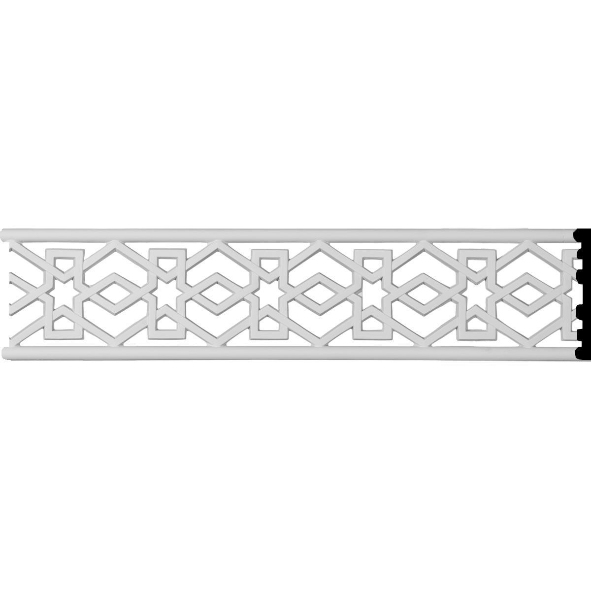 Swindon 4 H X 96 W X 3 8 D Pierced Moulding Di 2020 Ornamen