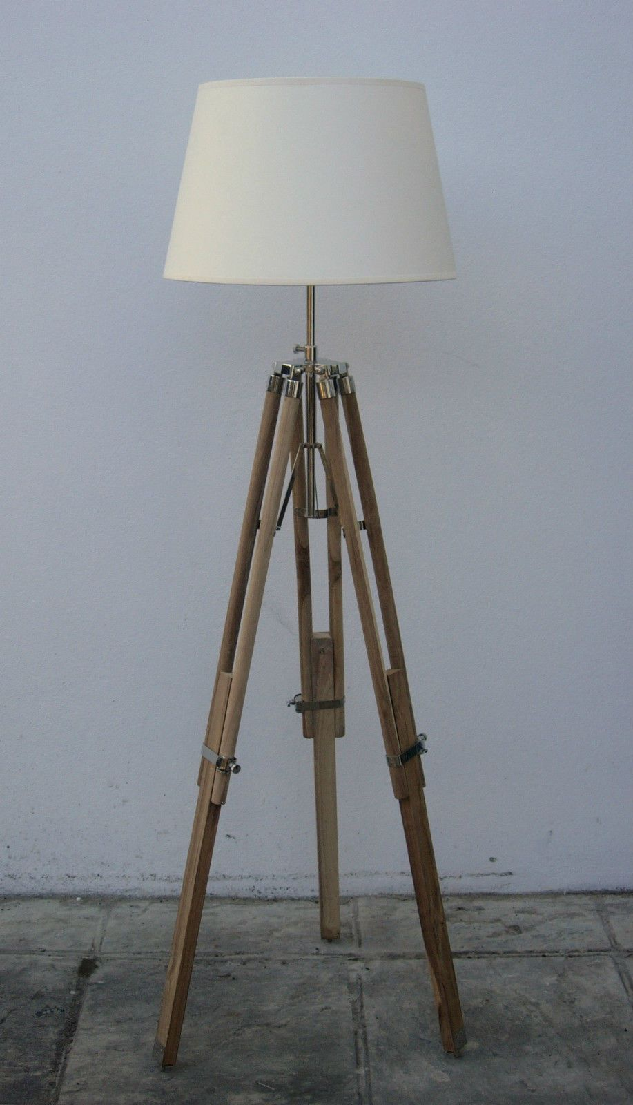 Modern Tripod Light Standard Floor Lamp Without Shade