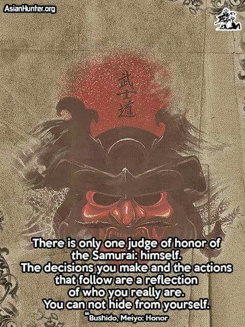 Definition Of Honor All Things Japanese Pinterest Samurai