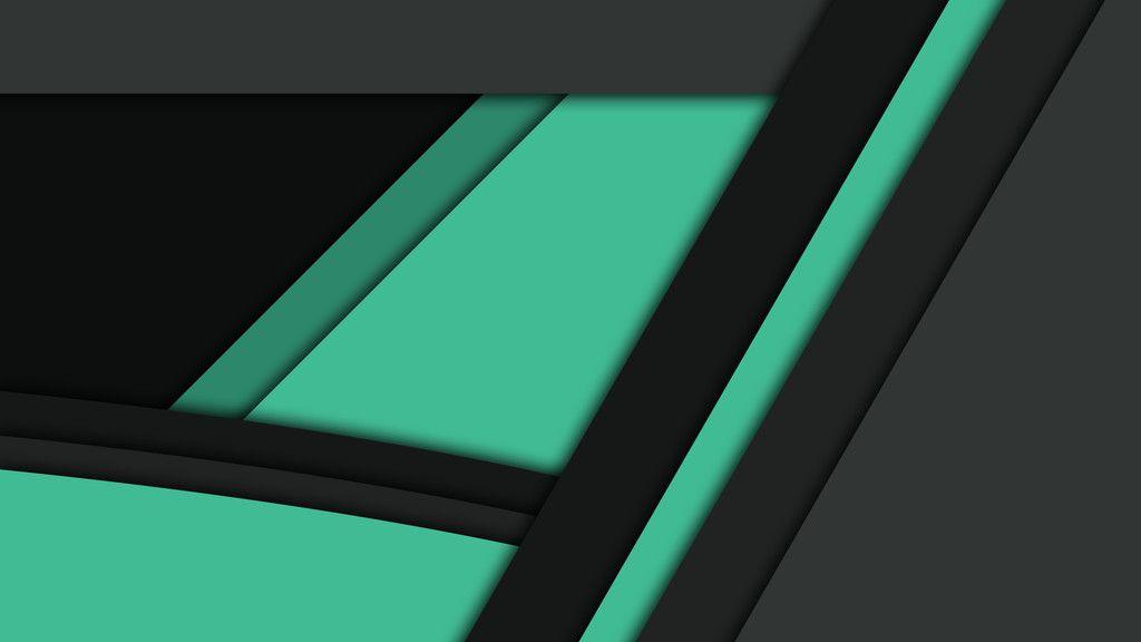 Black Green Wallpaper
