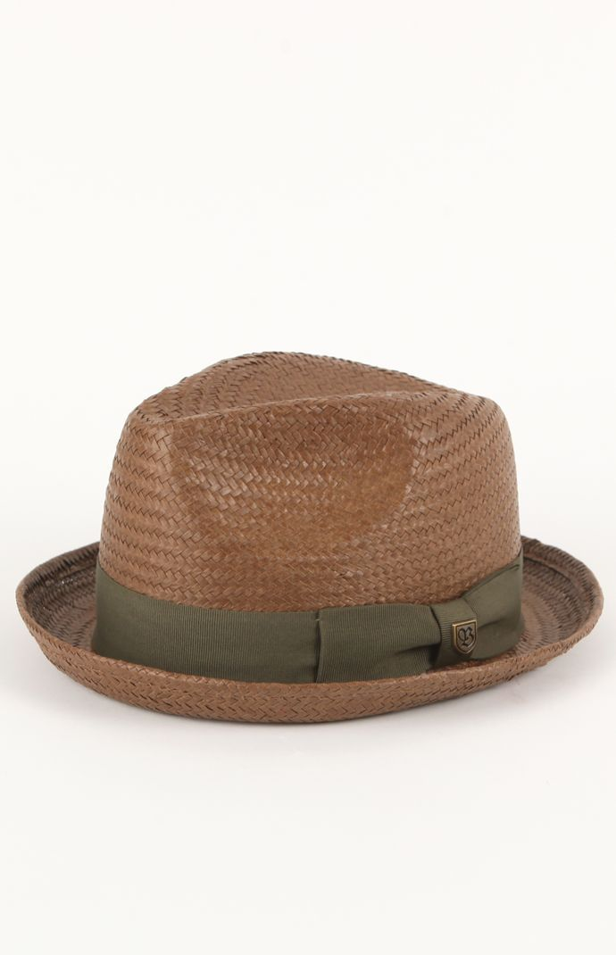 Brixton Castor Brown Fedora   Head   Hats in 2018   Hats, Brixton ... a26947534d0