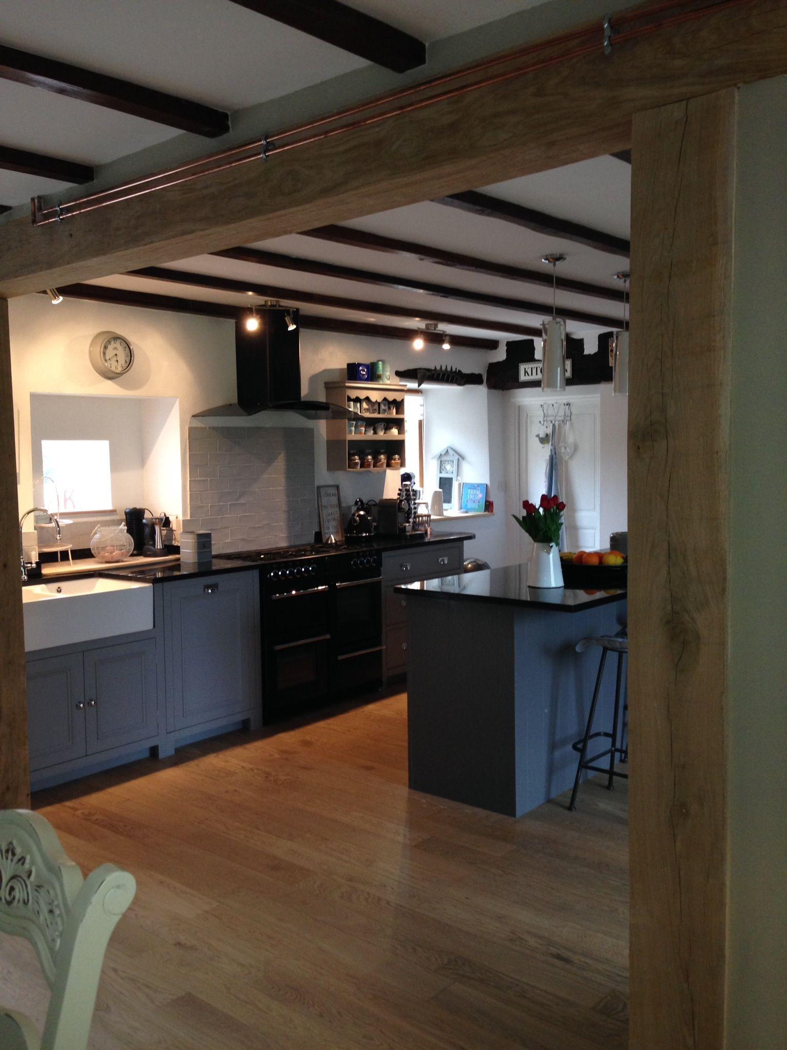 Neptune Chichester kitchen in cobble and shale | Neptune ...