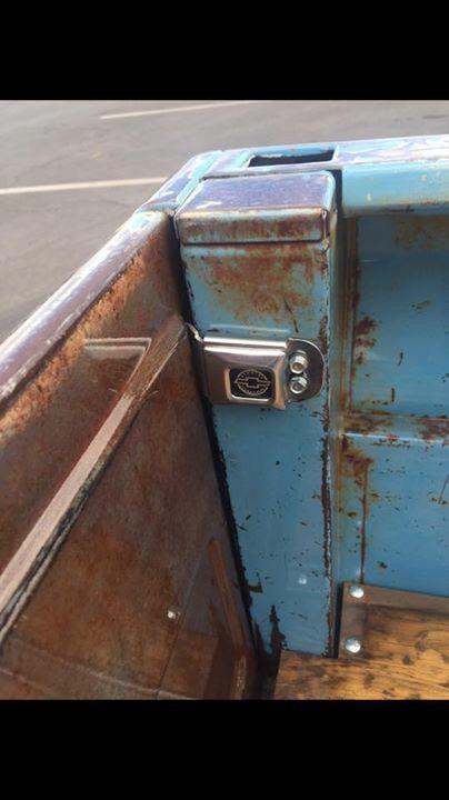 Hidden Door Latch