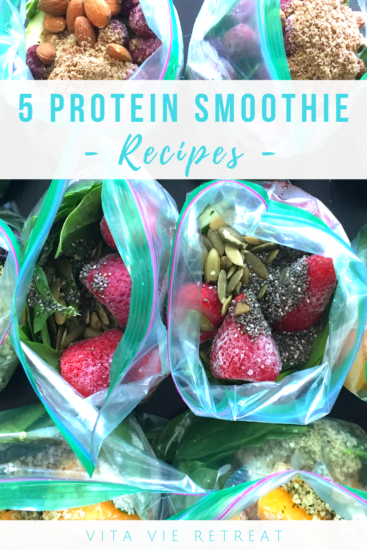 5 Superfood Protein Smoothie Recipes -   18 healthy recipes Smoothies protein shakes ideas