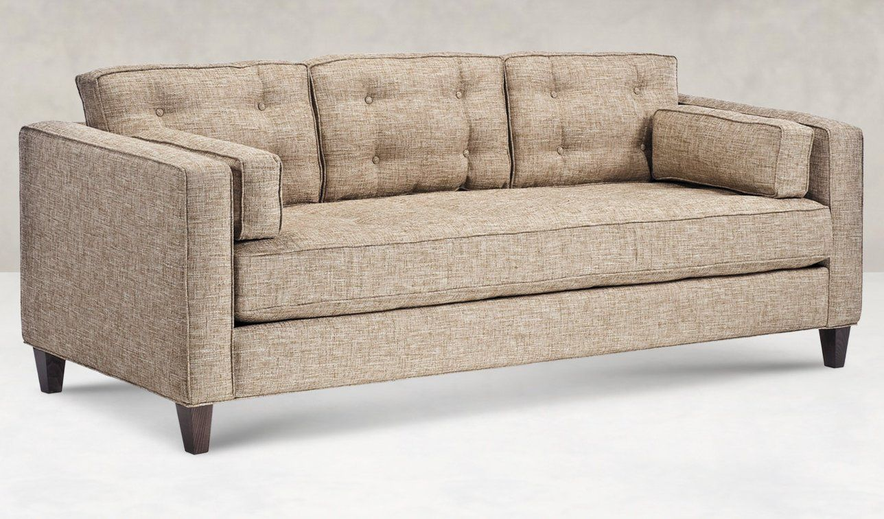 The Silas Sofa Nice Long Bench Style Seating Offers An