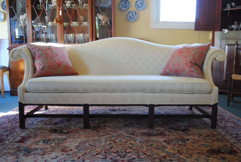 Hickory Chair Camel Back Sofa For The Home Sofa
