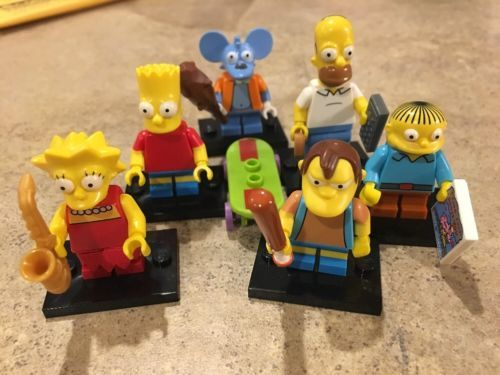 LEGO Series 1 SIMPSONS Minifigures Lot Homer Bart Lisa Nelson Ralph Itchy https://t.co/RasPO6UrbU https://t.co/aYXu0fYqF8