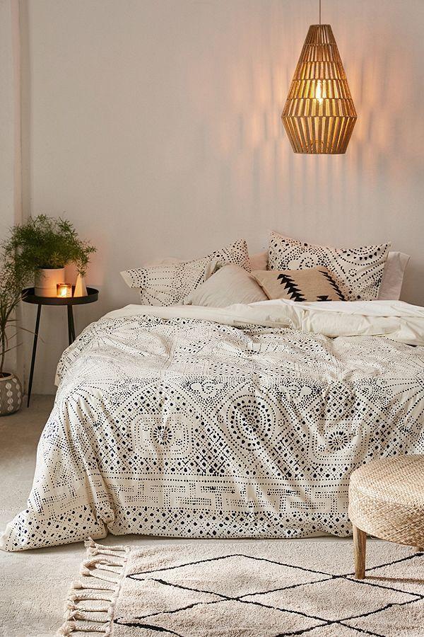 Rowan Bandhani Duvet Cover Casa In 2019 Simple Bedroom