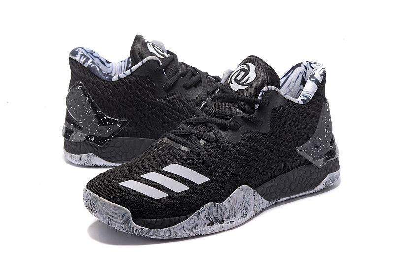 "competitive price 2ff07 46cfc Adidas D Rose 7 Low""Black ""Sneakers for Online Sale 01 01"