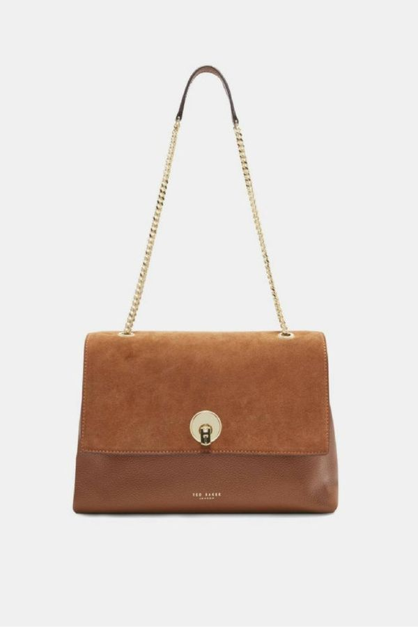 669b7a0ff20a Ted Baker Suede   Leather Bag