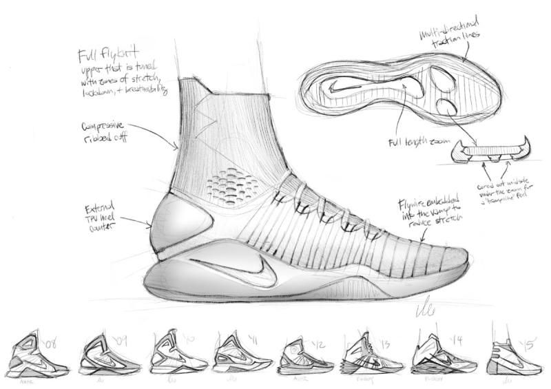 0ed366a29073 Nike Hyperdunk 2016 Sketch