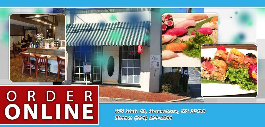 Mizumi Hibachi Sushi Greensboro Nc 27408 Menu Anese Online Food In