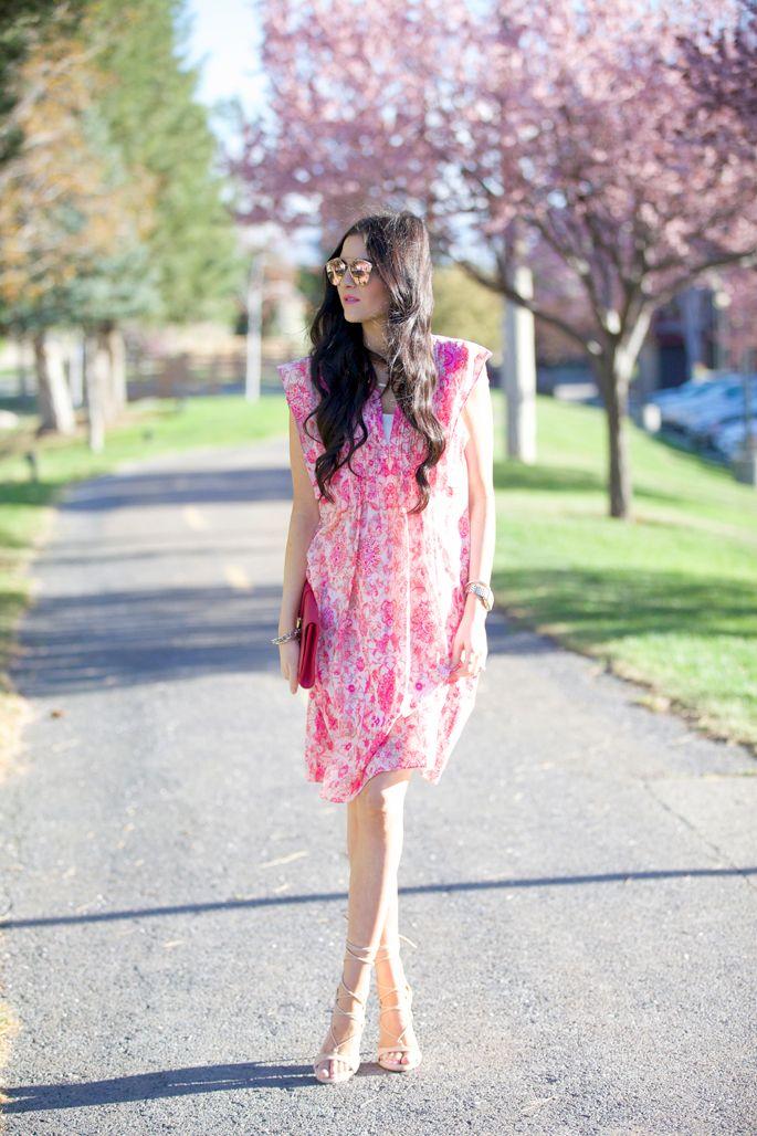 pink-spring-dress-nordstsrom