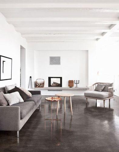 Painted Concrete Floors Concrete Floor Paint Tutorial Videos Painted Concrete Floors Painting Concrete Concrete Floors Bedroom