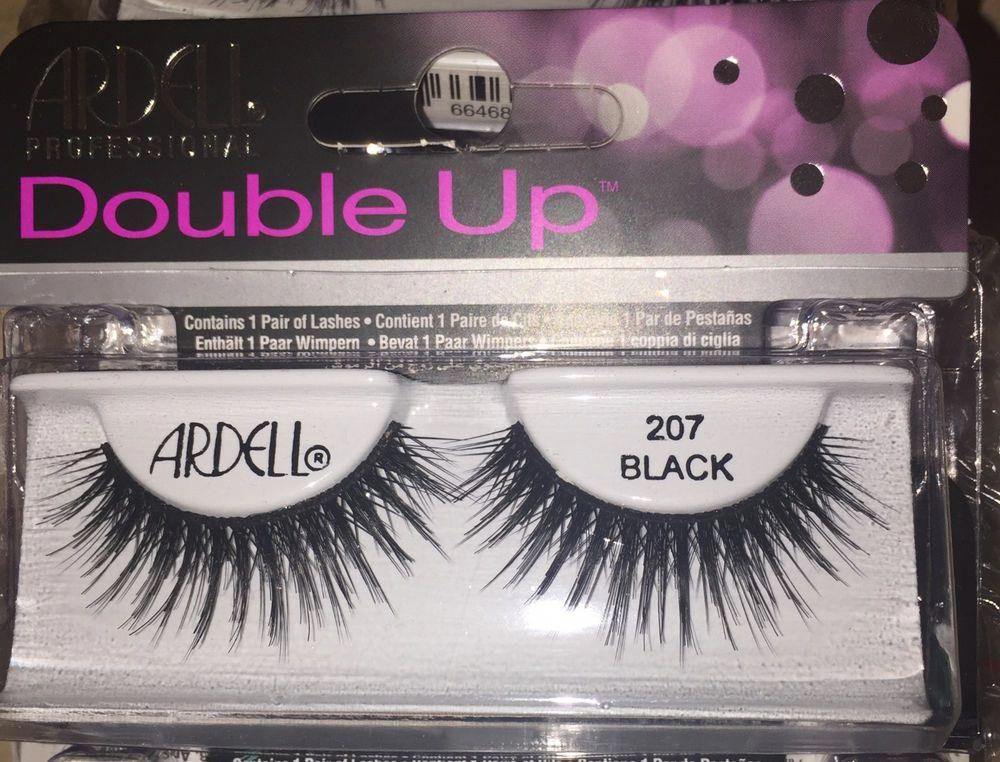 dcd7a41193d 207 Black Ardell Double Up Professional Eyelashes False Lashes | Health &  Beauty, Makeup, Eyes | eBay! #Lashes