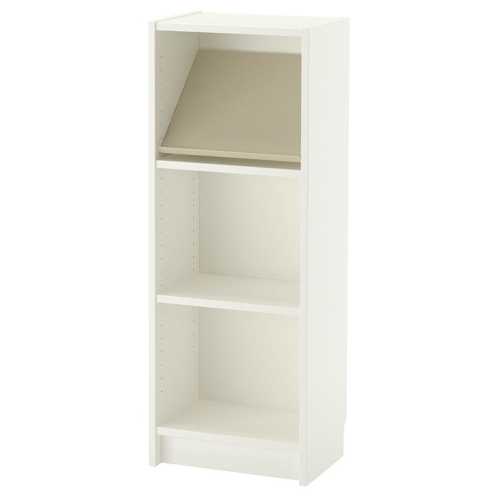BILLY / BOTTNA Bookcase with display shelf   white/beige ...