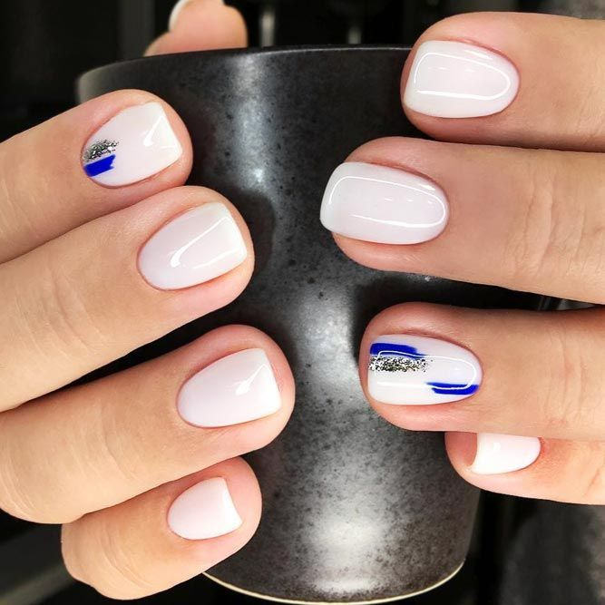 Flawless Perfection Of Cobalt Blue Nails | NailDes