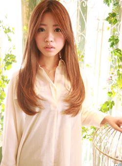 ★ナチュラルストレートスタイル★ /au-be 表参道店の髪型・ヘアスタイルカタログ