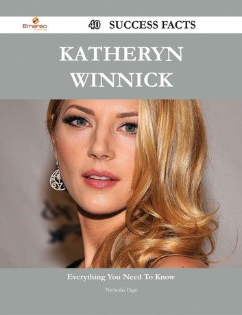Katheryn Winnick 40 Success Facts - Everything You Need To ...