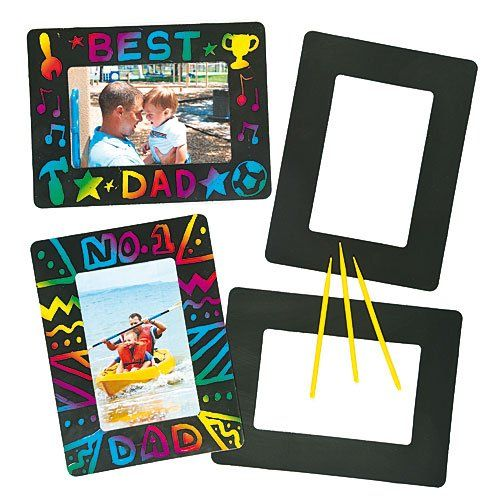 lot de 8 cadres photo gratter scratch art pour enfants id al pour offrir jeux. Black Bedroom Furniture Sets. Home Design Ideas