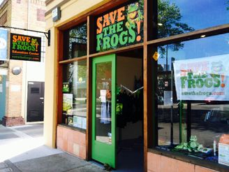 SAVE THE FROGS! Education Center in Berkeley, California Grand Opening, March 29, 2014!!
