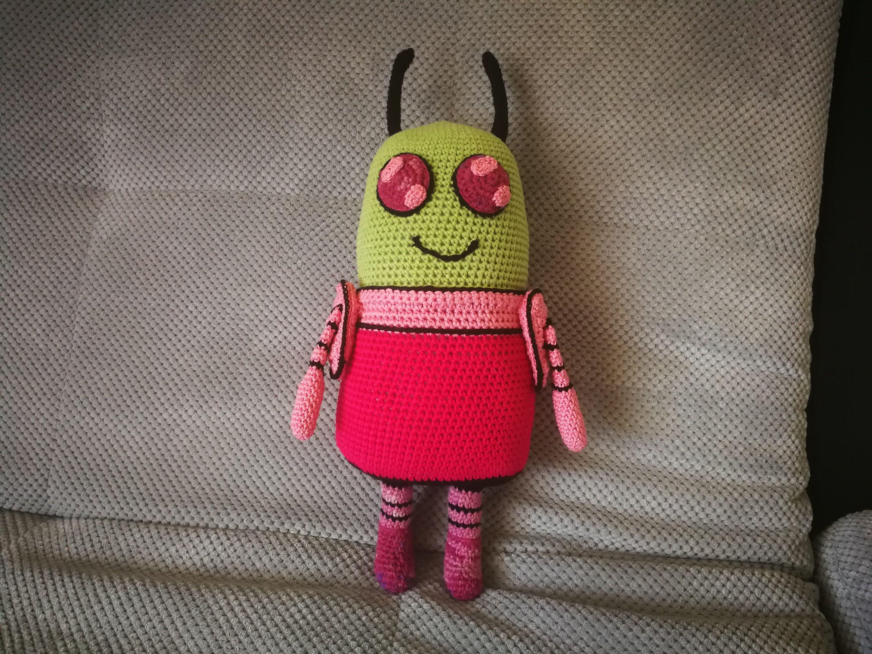 alien toy Made to order Invader Skoodge