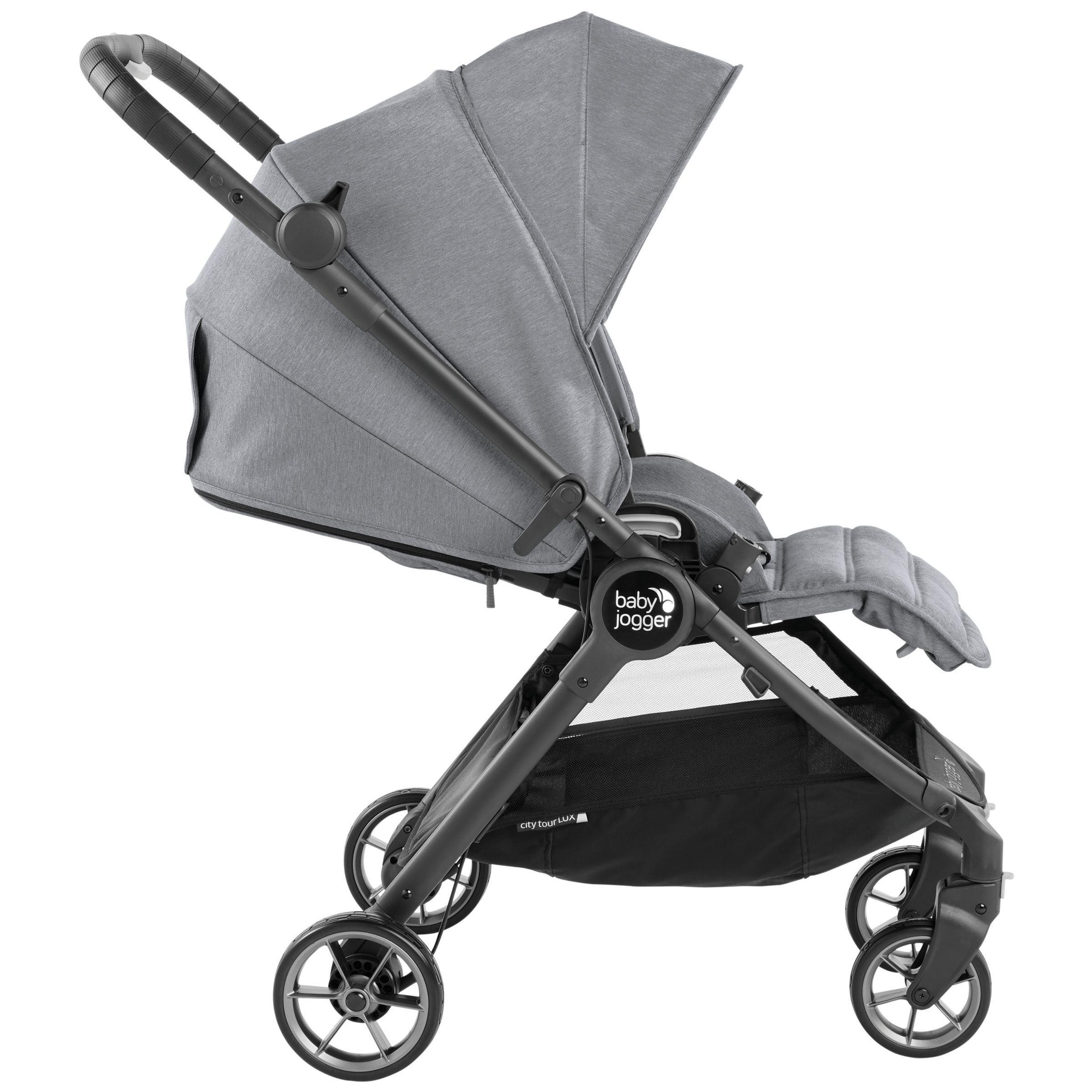 Baby Jogger City Tour LUX Pushchair, Slate Baby jogger