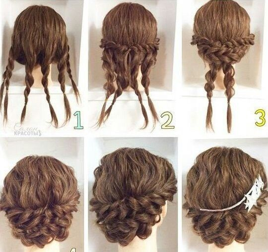 Quick Hairstyles For Long Hair Gorgeous Pingréta Kováčová On Hairstyle  Pinterest  Hair Style Plaits