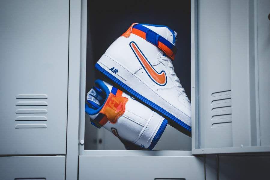 cheap for discount 5b301 570b3 Nike Air Force 1 High  07 LV8 Sport (white   orange)   43einhalb Sneaker  Store