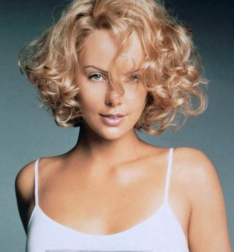 Curly Hair Square Face: Short Curly Hairstyles For Square Faces