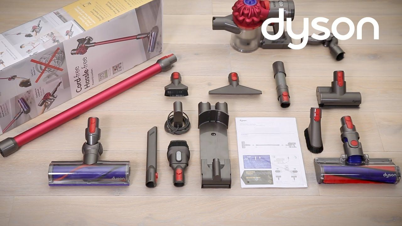 Dyson V7™ cordfree vacuums Getting started (US) Dyson