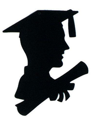 help need graduate silhouette clip art clipart paper ideas rh pinterest com graduation cap silhouette clip art free graduation silhouette clip art