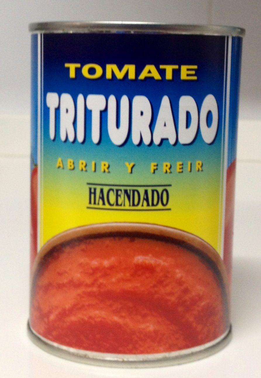 Tomate Triturado Hacendado Mercadona 0 P Dieta Puntos Lista De La Compra Saludable Recetas Dieta