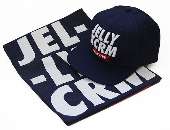JELLY AND CREAM x HACKNEY SKATE CLUB Strapback Cap