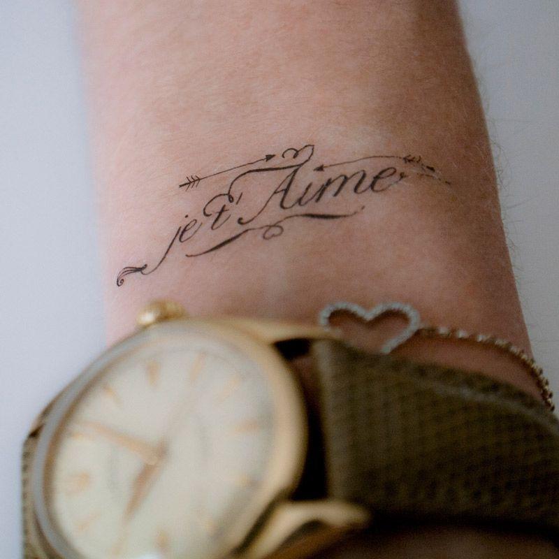 Tatouage Je T Aime Recherche Google I Pinterest Tattoos