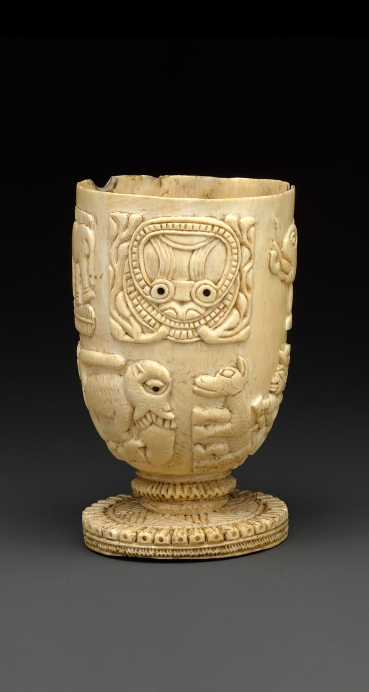 Africa Vessel from the Yoruba people Owo group of Nigeria