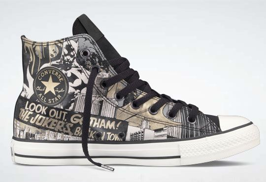 ce8f0748392fb3 Batman Hi-tops -- DC Comics x Converse Chuck Taylor All Star Hi Collection