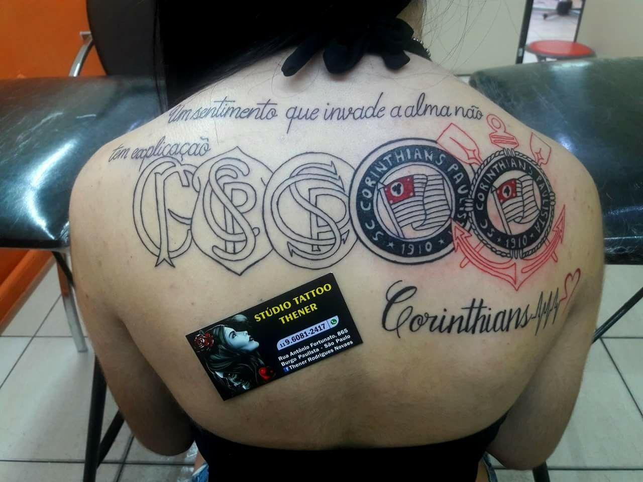 cb083b0090 tatuagem do Corinthians