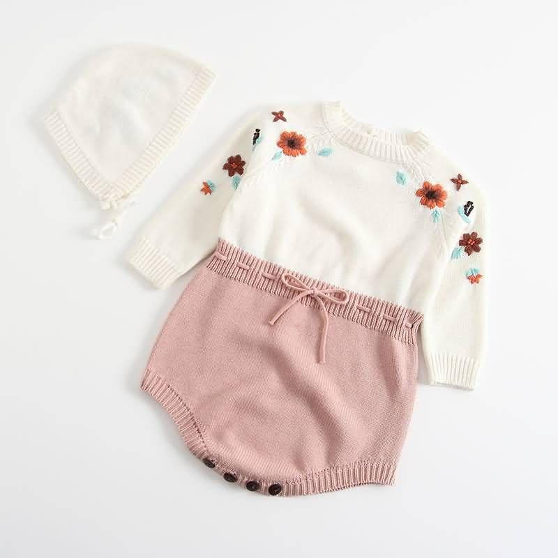 Infant Baby Girl Ruffle Floral Embroidery Romper Bodysuit Clothes Outfits Sleeveless Lace Jumpsuit Romper Baby Girls Clothes