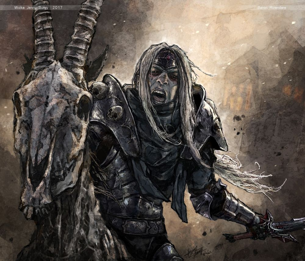 Baron Rivendare By Wuika World Of Warcraft The Black Cauldron Dark Fantasy