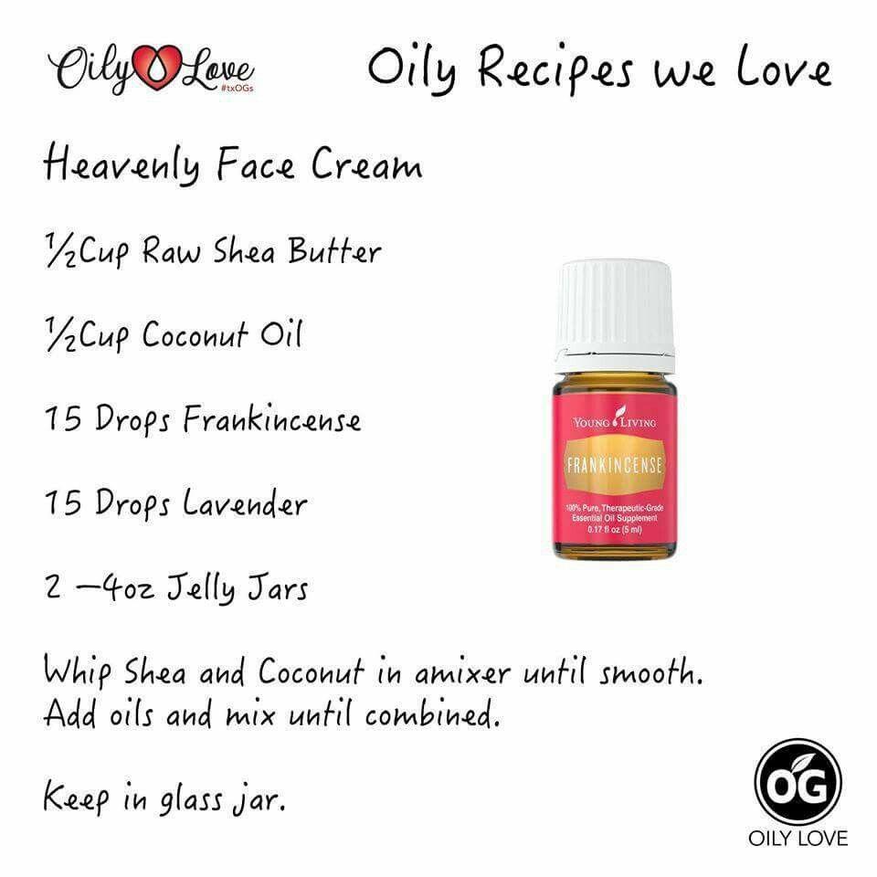 DIY natural face cream Face cream, Diy essential oil